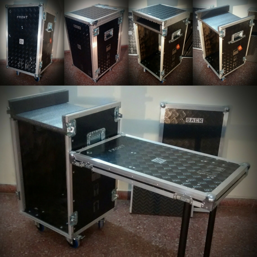 Rackera cabina sonido, Anvil flight case