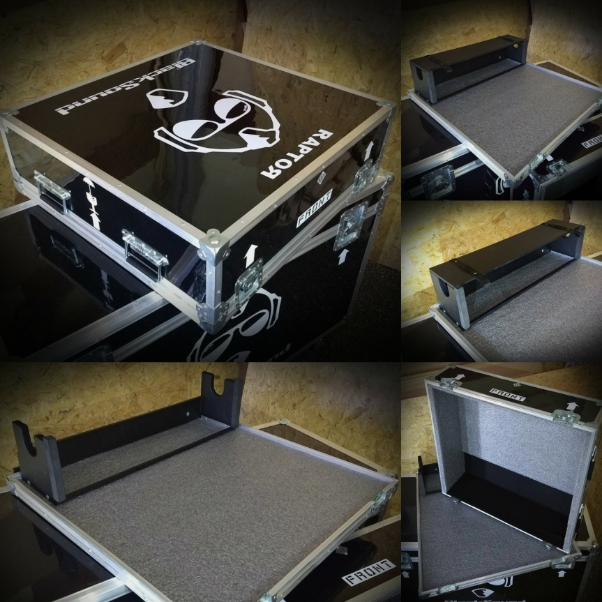 Flightcase para consola sonido en vivoprofesional