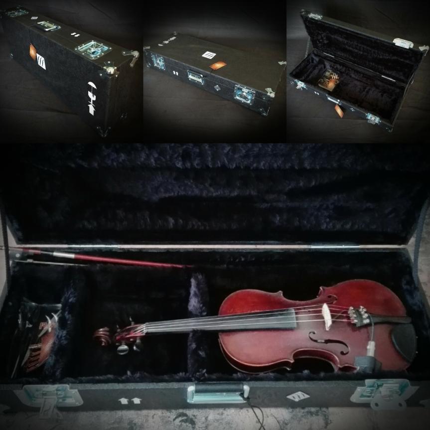 Estuche rígido para violín, violonchelo y cuerdas engeneral