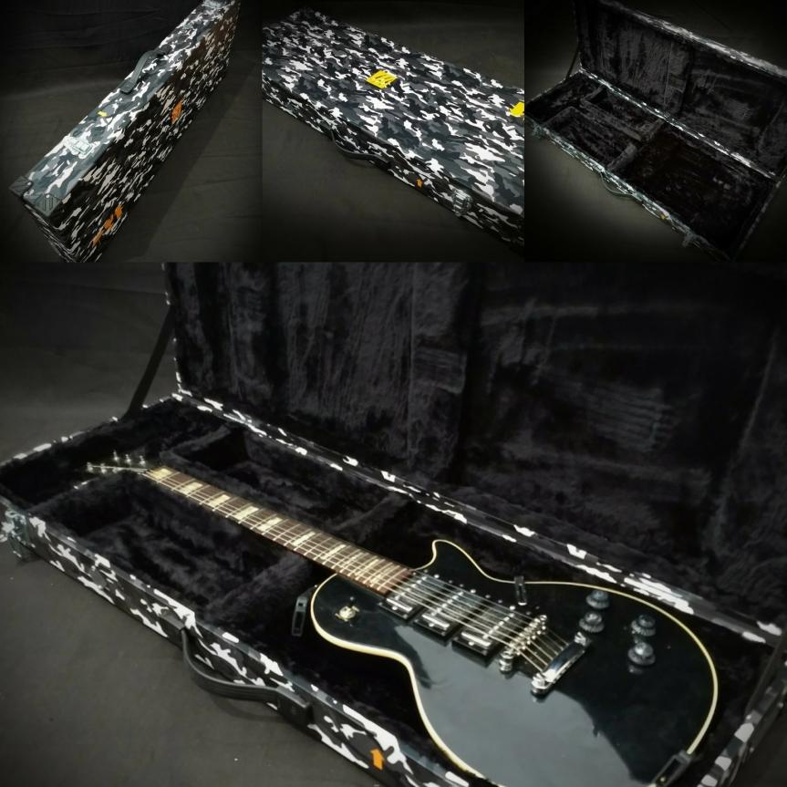 Estuche rígido para guitarra obajo