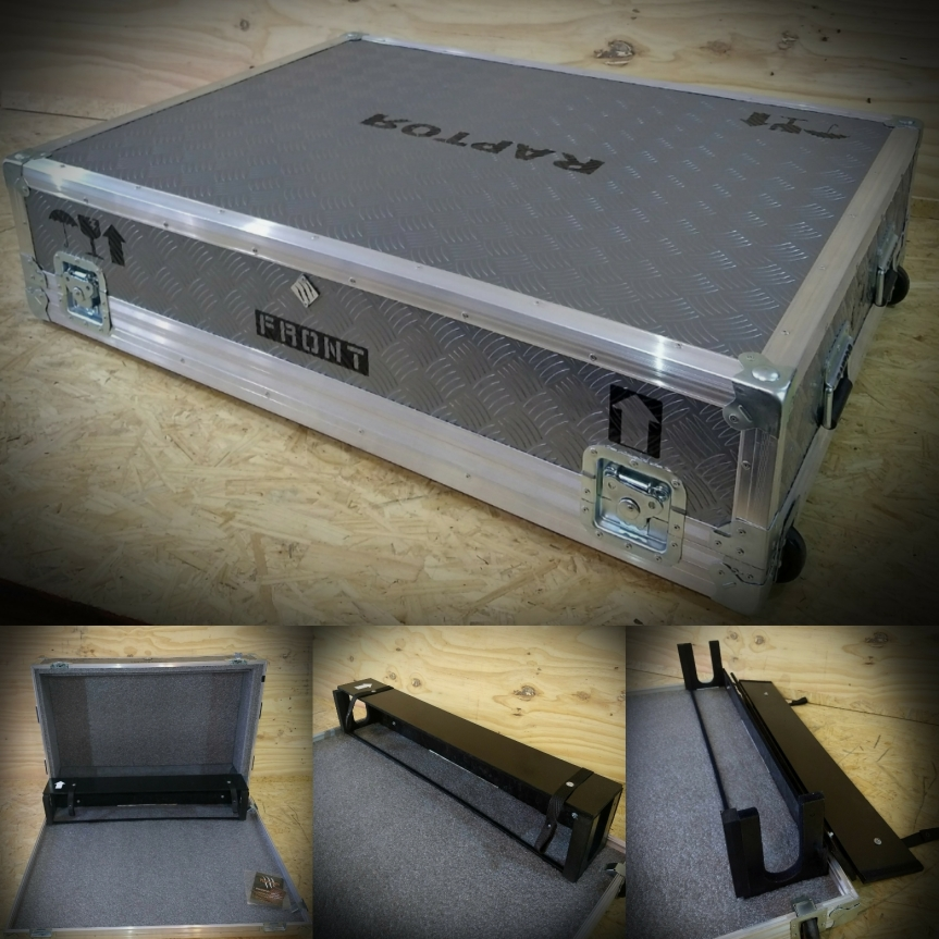 Anvil o flightcase para consola grande con Sista dog house