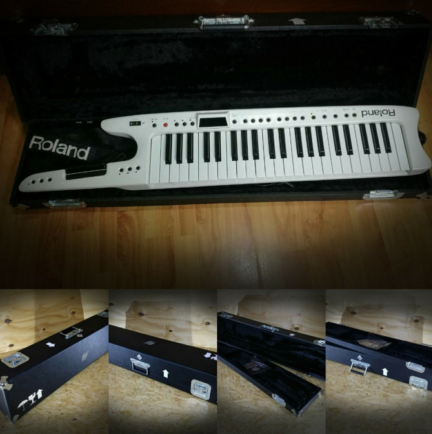 Estuche para teclado roland ax synth ysimilares