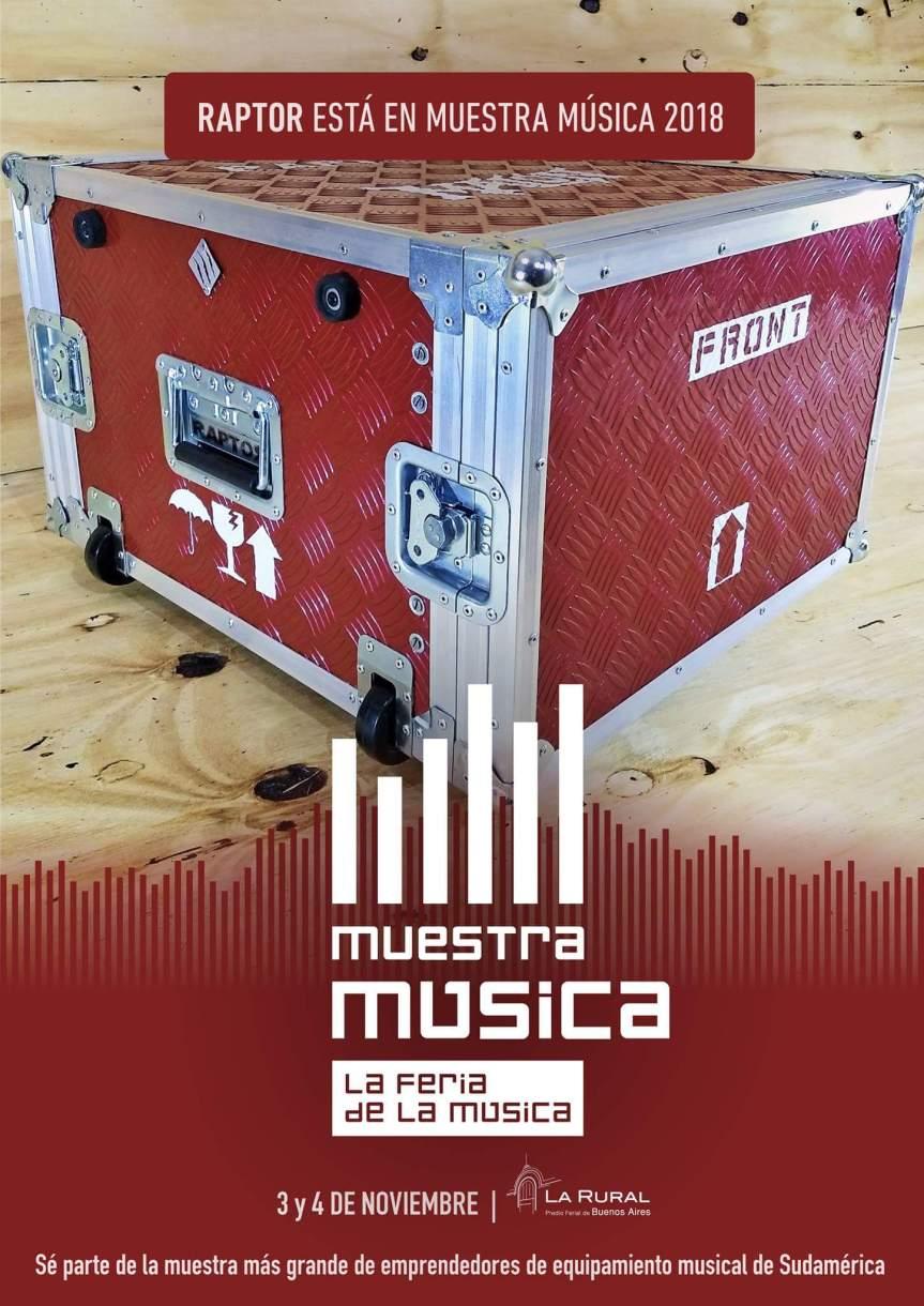 Raptor en Muestra Música2018
