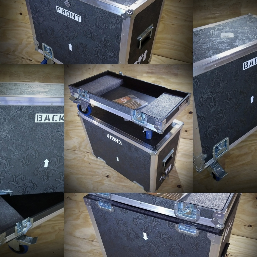 Amplificador de guitarraprotegido