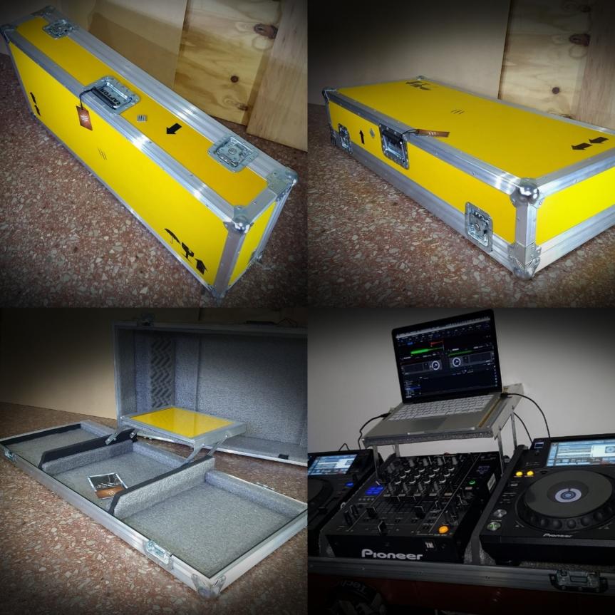 Anvil para bandejas de DJ – Rack paracontrolador