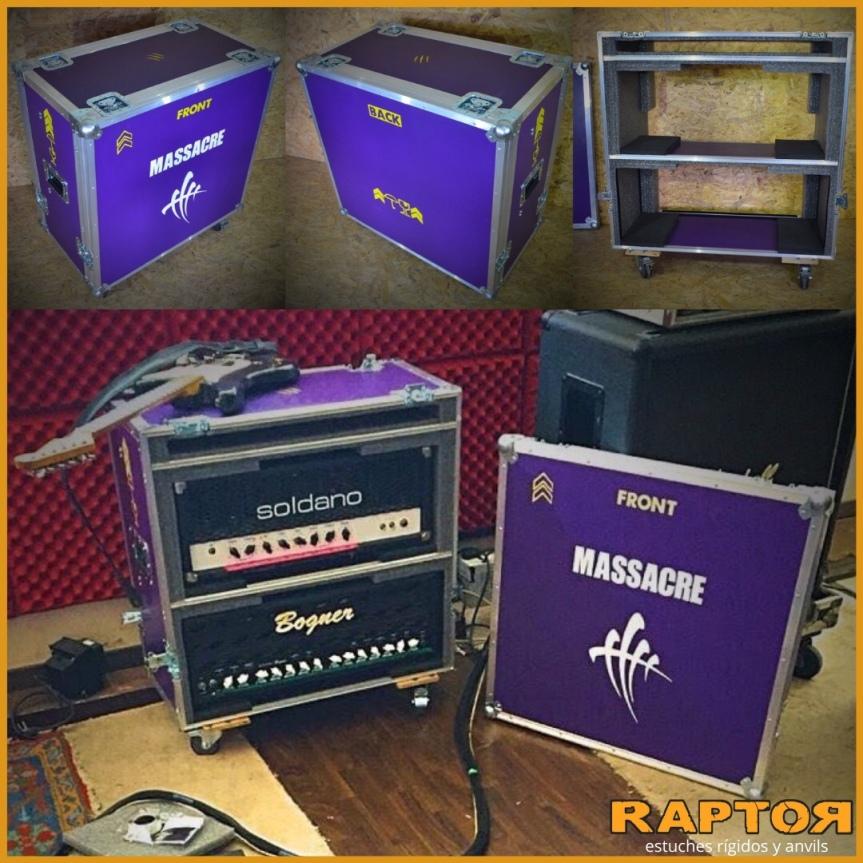 Anvil profesional para el Tordo, guitarrista de Massacre (anvil cabezal deguitarra)