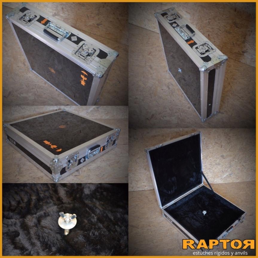 Anvil para platillos de batería. Estuches rígidos parabatería