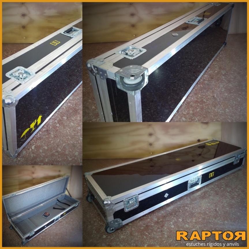 Estuches para pianos eléctricos a medida conruedas
