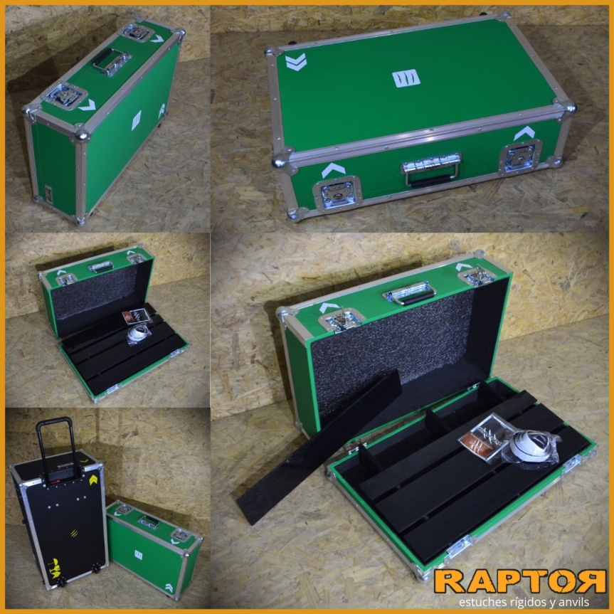 Pedalboard tipo carry on valija