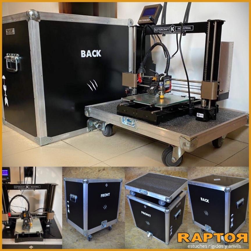 Caja para impresora 3d , estuche paraimpresora