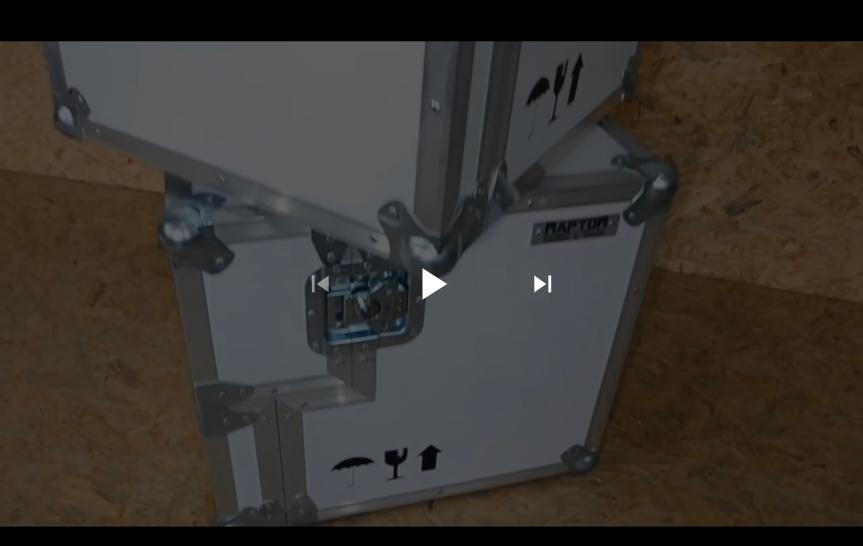 Estuches rígidos para equipaje demotocicleta